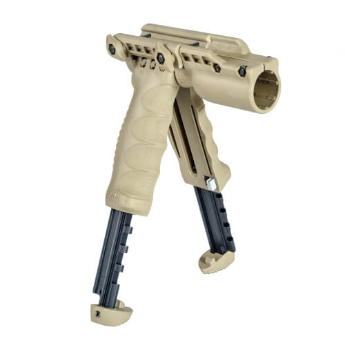 Foregrip Bipod and Flashlight Holder, Gen 2
