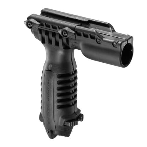 Foregrip Bipod and Flashlight Holder