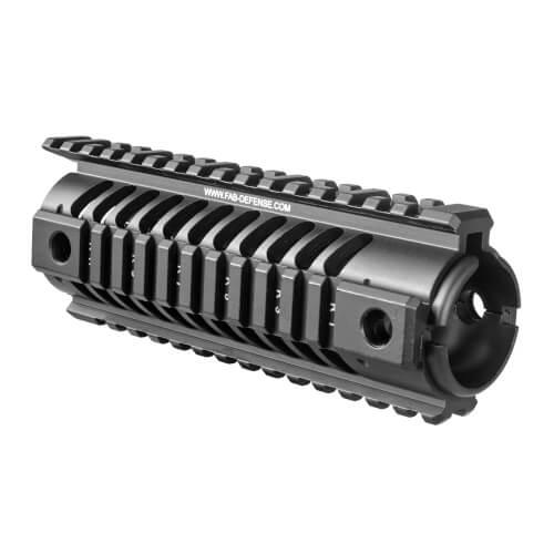 """M16 / M4 / AR-15 (14.5"""") Quad Rail Aluminum Handguard"""