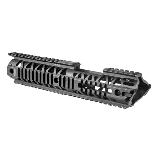 """M16 / M4 / AR-15 (14.5"""") Extended Quad Rail Aluminum Hanguard"""