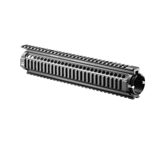 "M16 / AR-15 (20"") Rifle Length, Quad Rail Aluminium Handschutz"