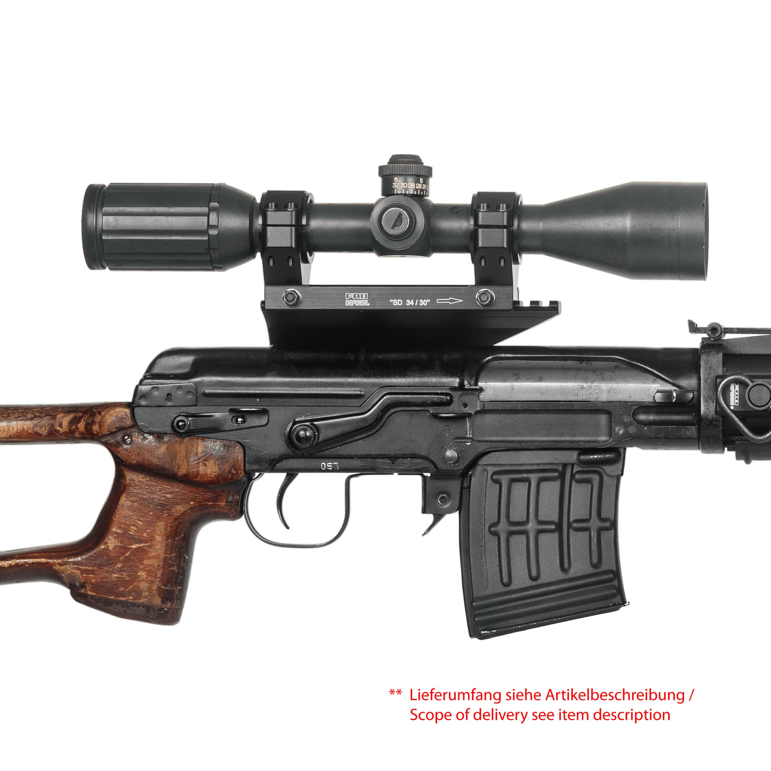 Dragunov Sniper Scope Mount