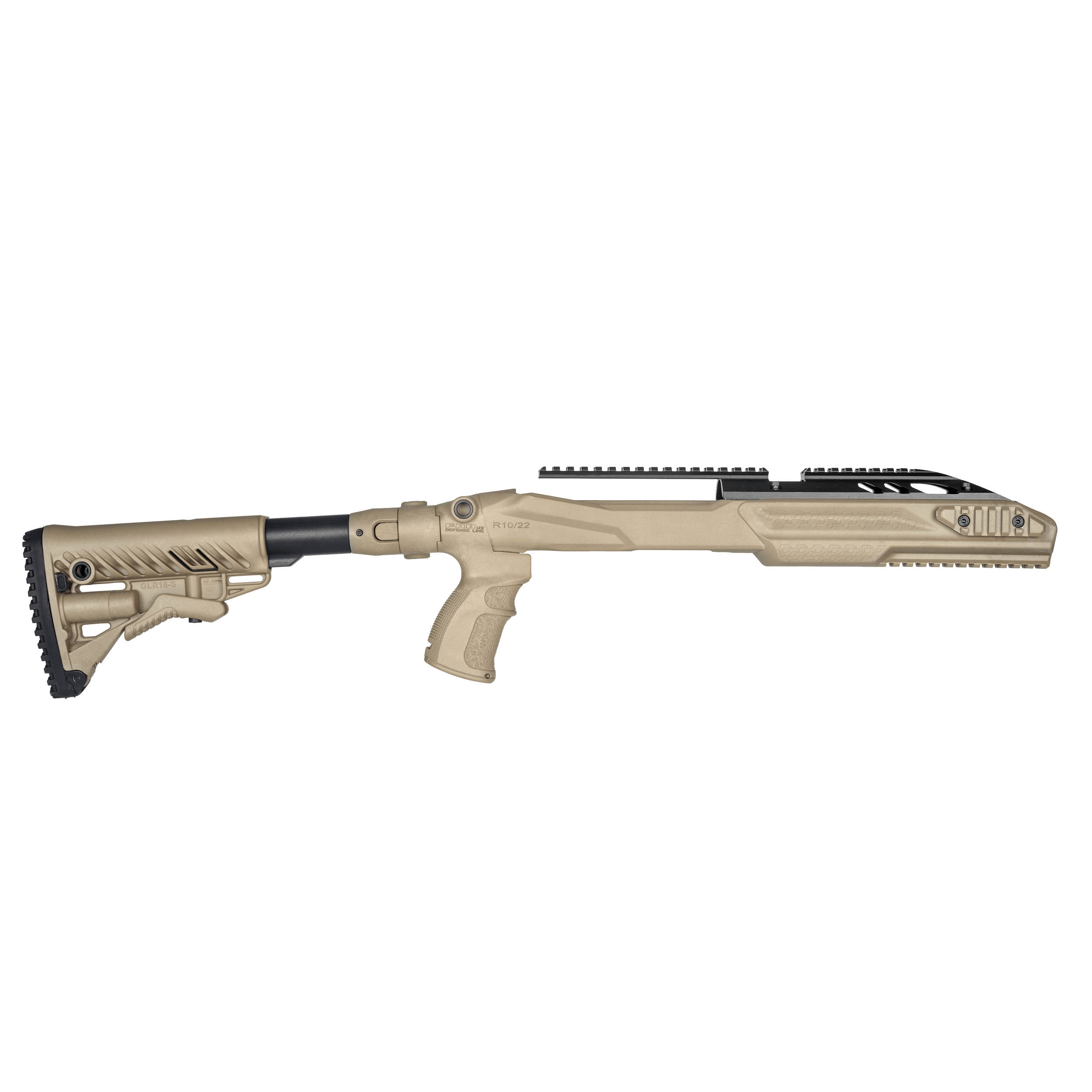 Ruger 10/22 M4 Collapsible Stock PRO Conversion Kit