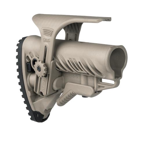 Schulterstütze AR15 / M16 / M4 Stil - Wangenauflage