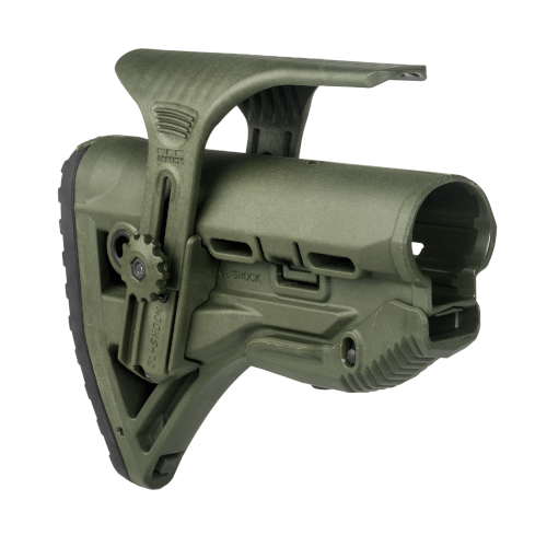 M4/AR15 Shock-Absorbing Buttstock W/ Cheek Rest