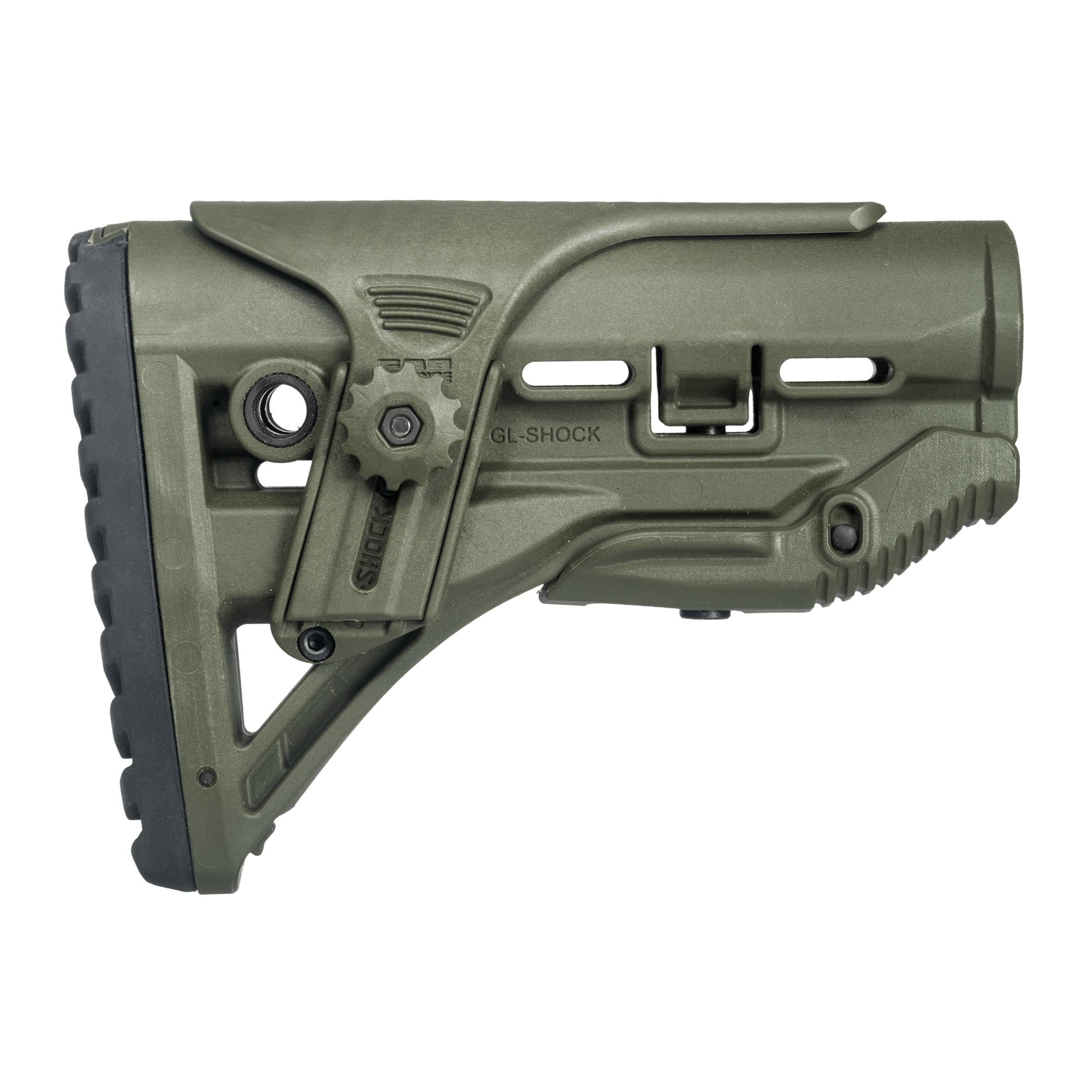 M4/AR15 Shock-Absorbing Buttstock W/ Cheek Rest