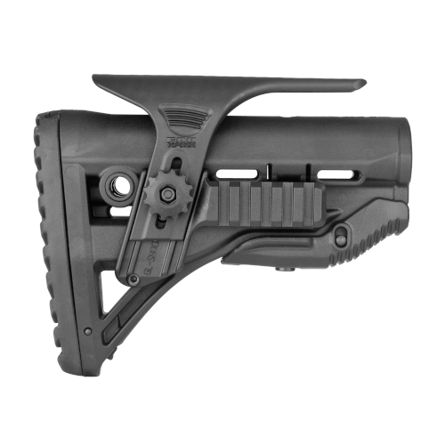 Buttstock AR15 / M16 / M4 Style - Shock Absorbing / Rail