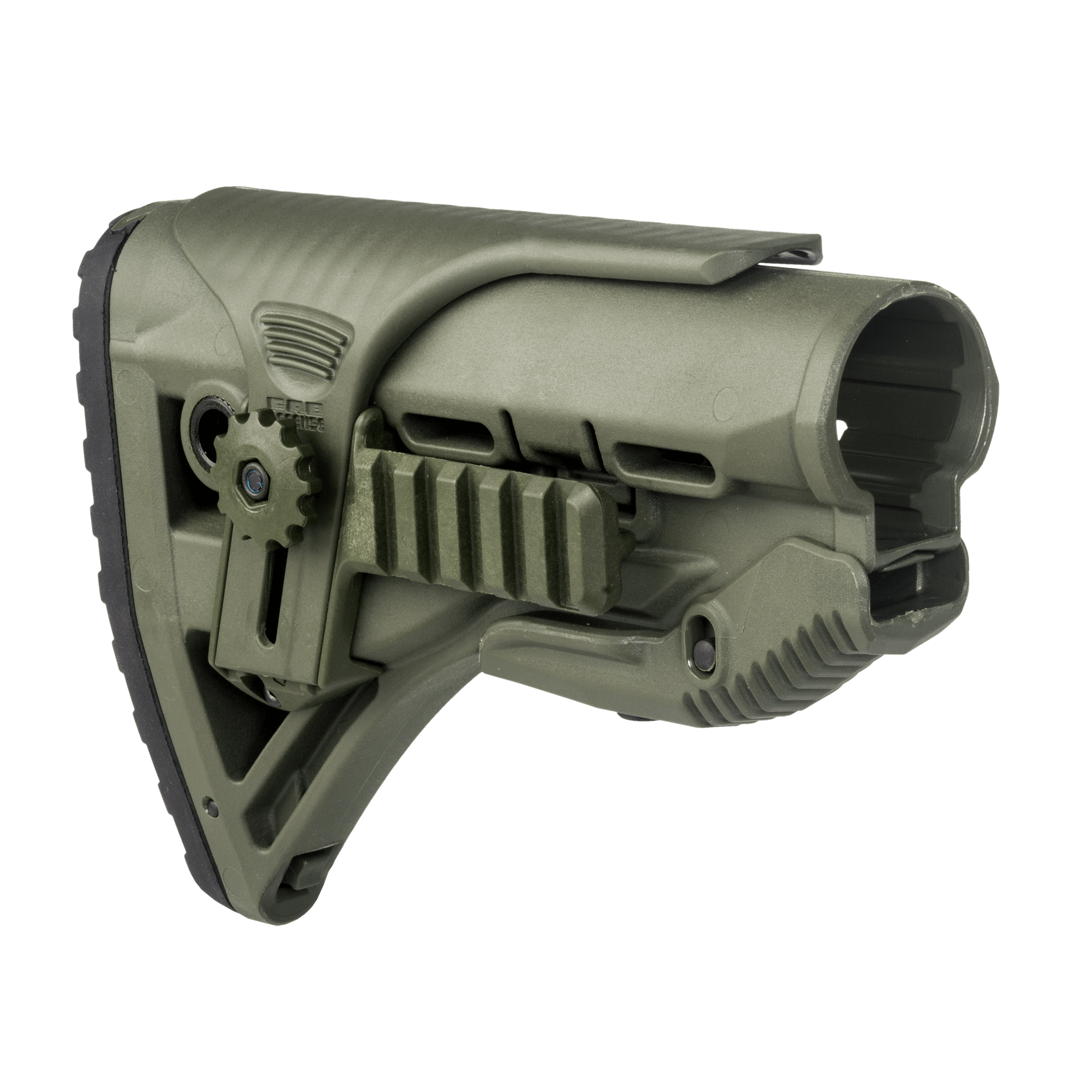 Buttstock AR15 / M16 / M4 Style - Shock Absorbing / Rail