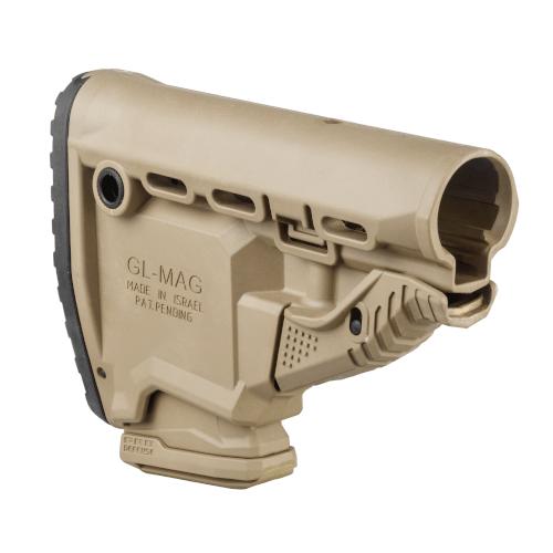 Schulterstütze AR15 / M16 / M4 - mit 10 Schuss Reservemagazin