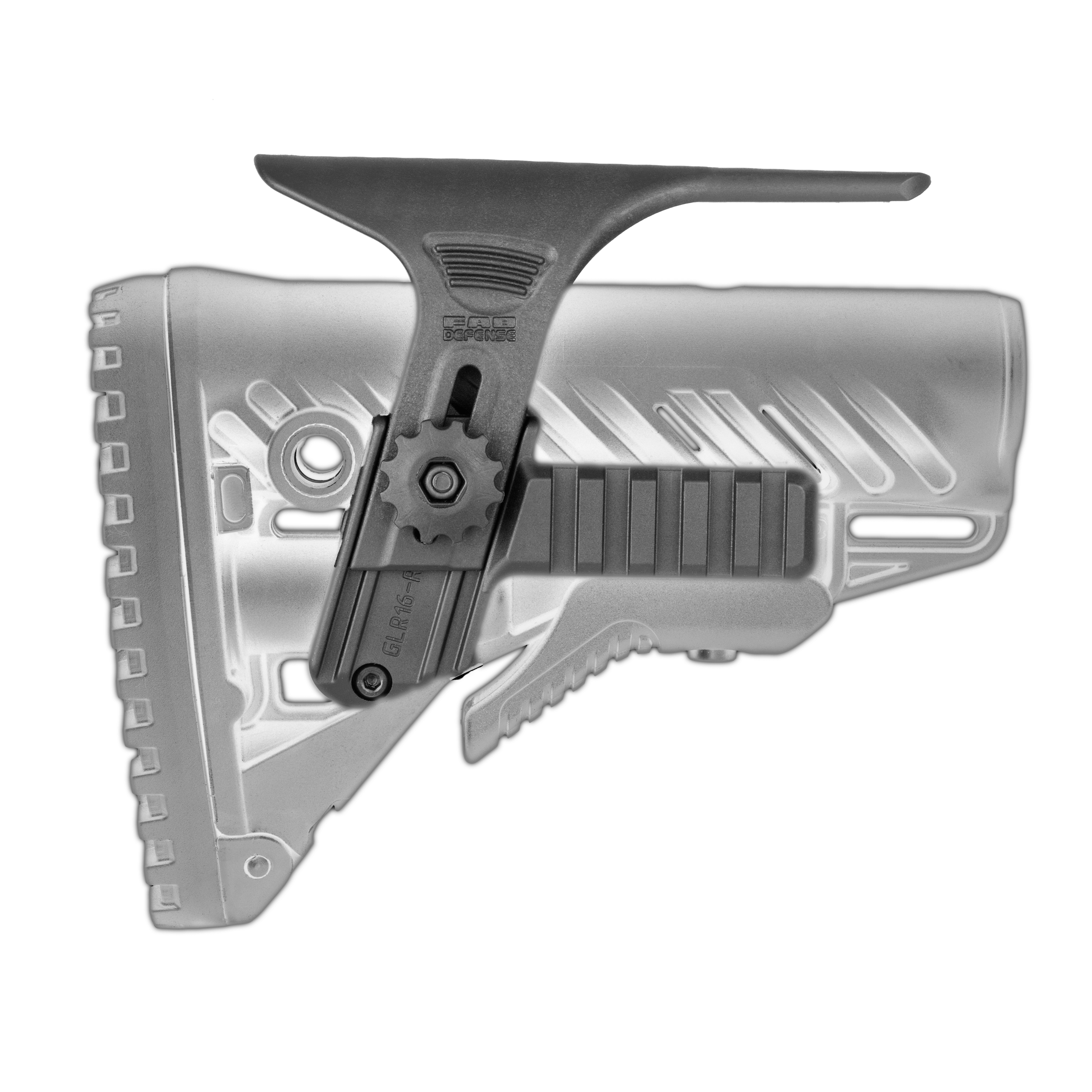 Cheek Rest Kit with Built in Dual picatinny rails for GLR-16