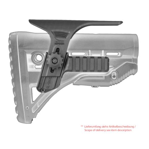 Wangenauflage für GL-Shock mit 2 fach Rail