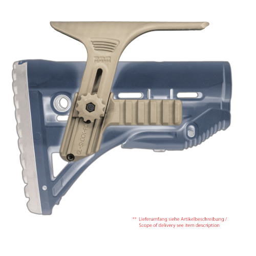 CHEEK REST KIT WITH DUAL PICATINNY RAILS FOR GL-SHOCK