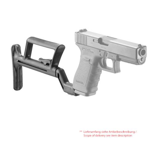 Glock 19 Anschlagschaft Compact Modelle ( GEN 1,2,3 )