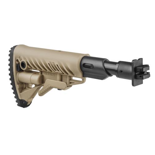 MOLOT VEPR 12 Schulterstütze Klappbar / Rückstoßdämpfer / AR15 Stil