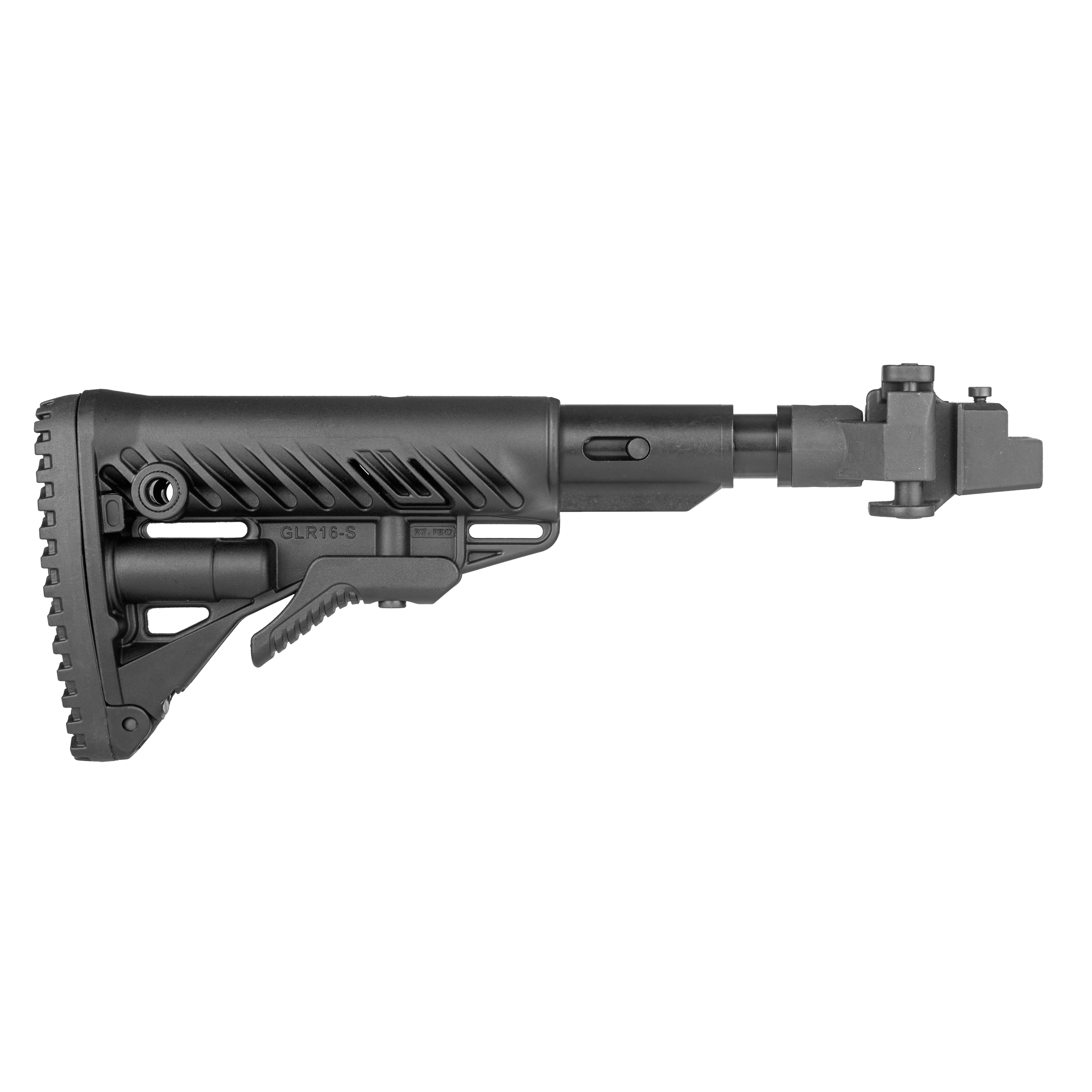 AK47 folding buttstock / shock absorbing (Metal Joint)