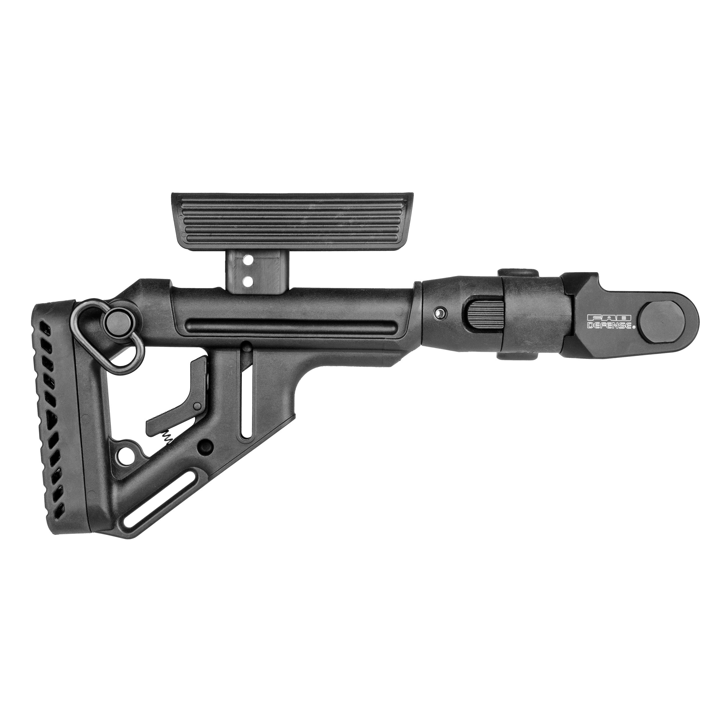 AKMS folding buttstock / cheek rest (underfolder)