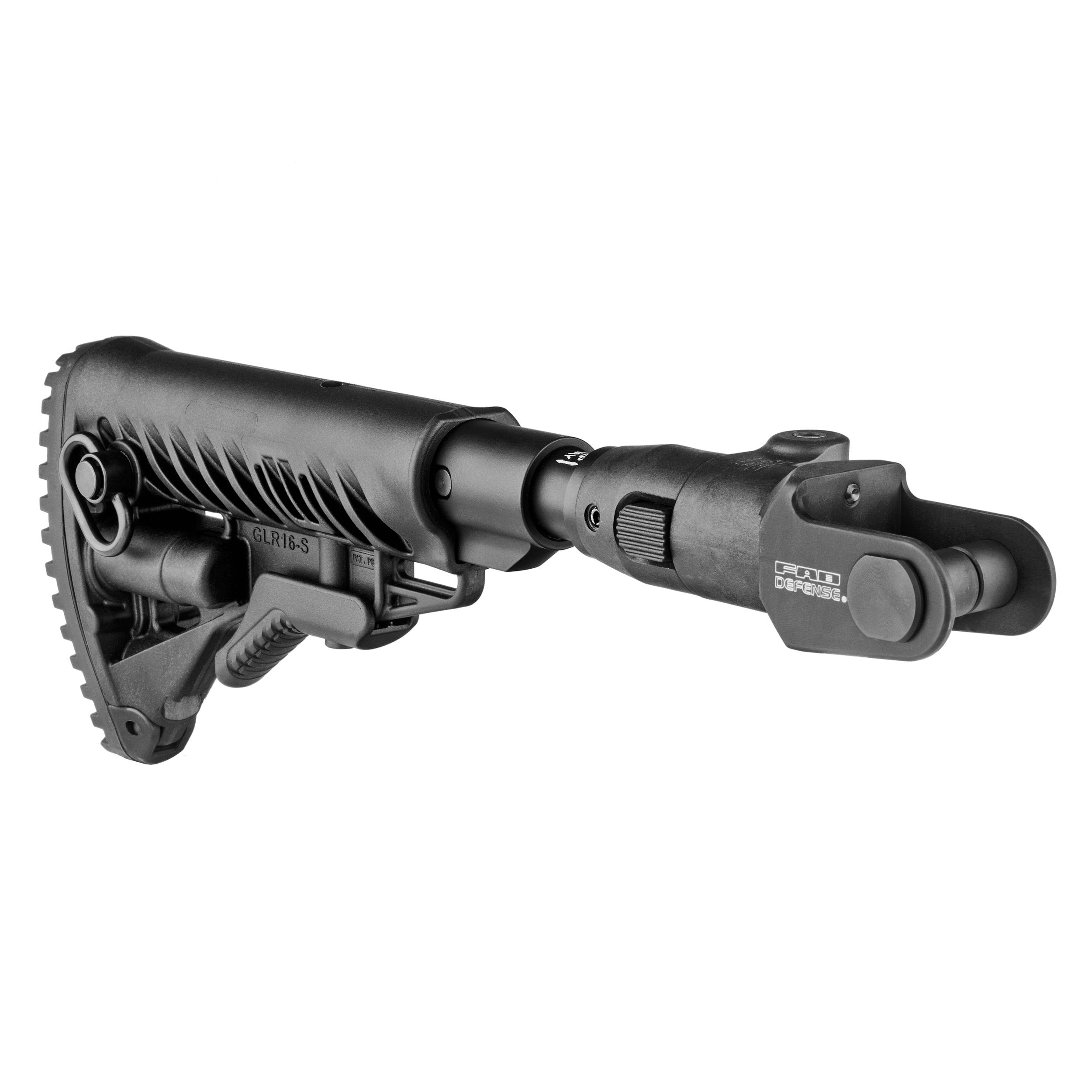 AKMS Folding Collapsible Buttstock /  Shock Absorber (underfolder)