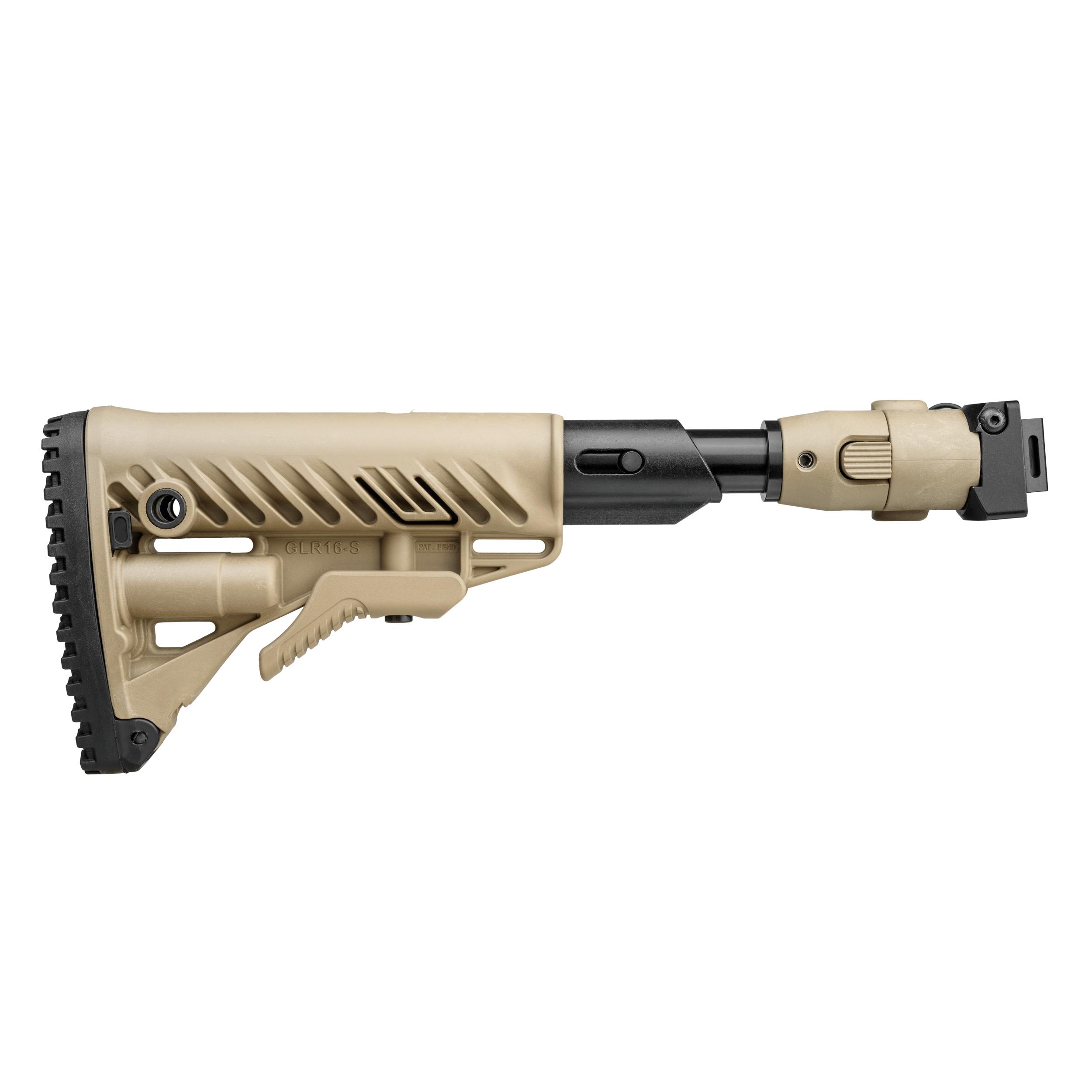AKS-74U Folding Buttstock  / Shock Absorbing