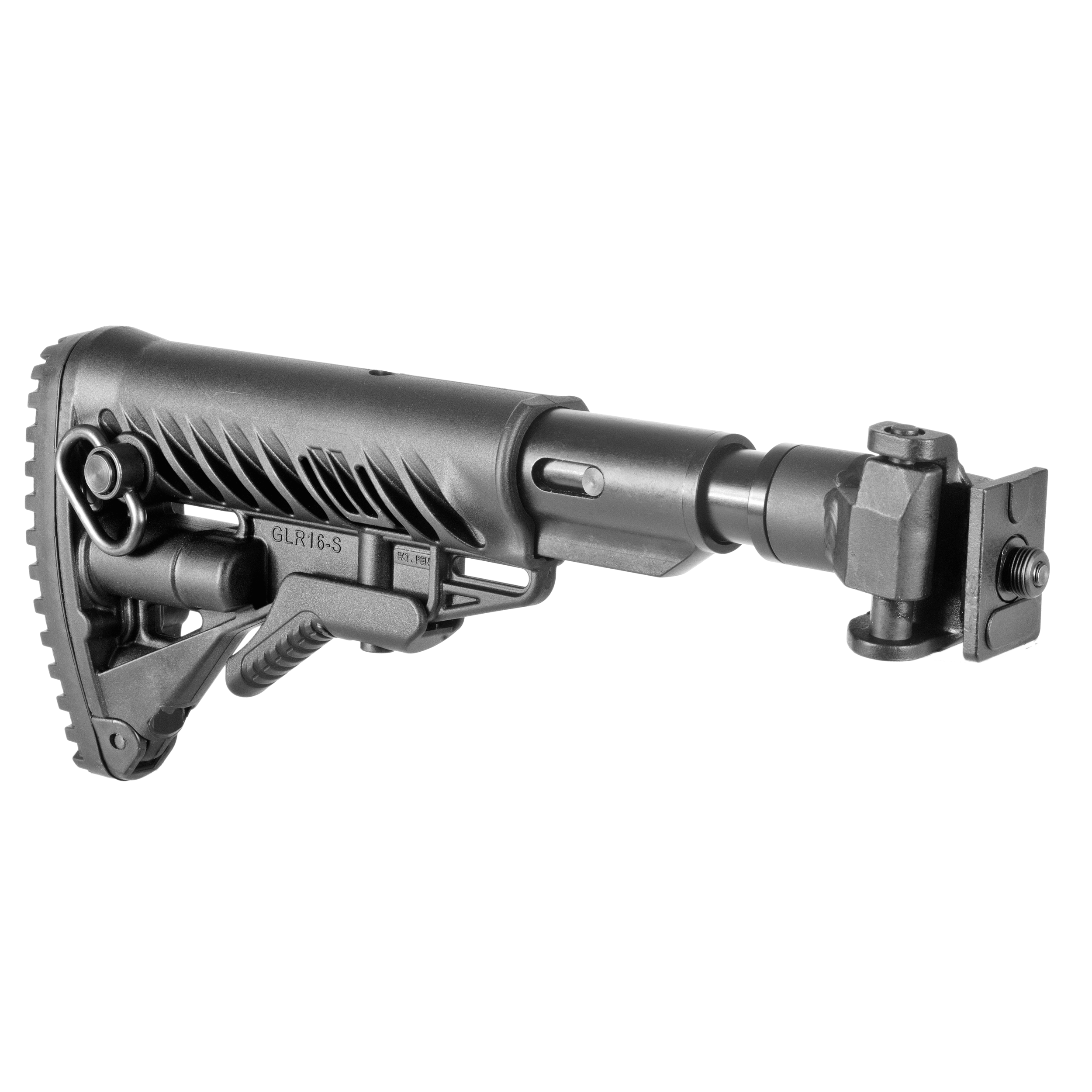 VZ58 folding buttstock / shock absorbing/ AR15 Stil (Metal Joint)