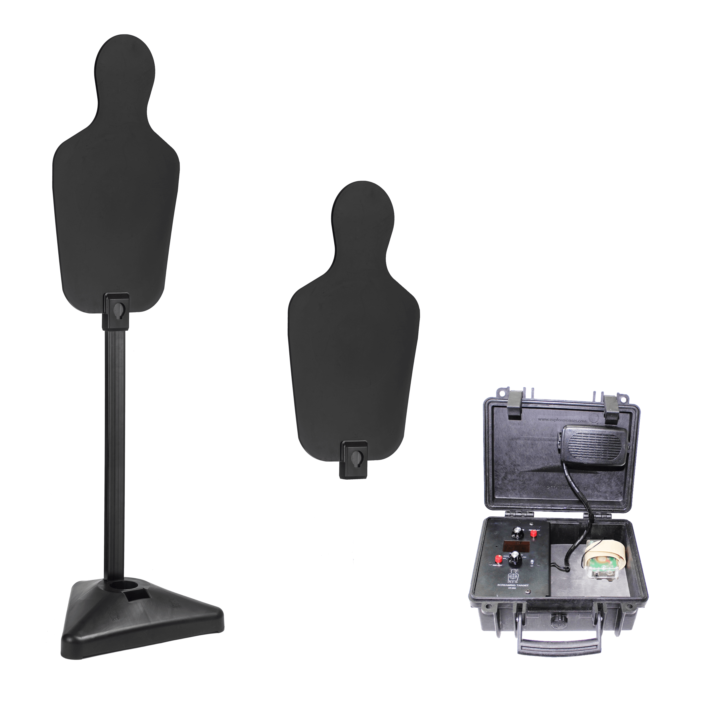 Self-Healing Screaming Static Target Kit