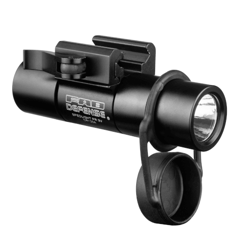Tactical Flashlight with Picatinny Rail - 2nd Gen