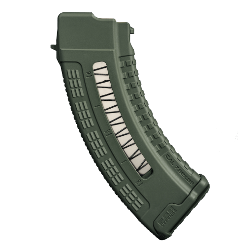30 Schuss AK 47 Polymer Magazin mit Fenster