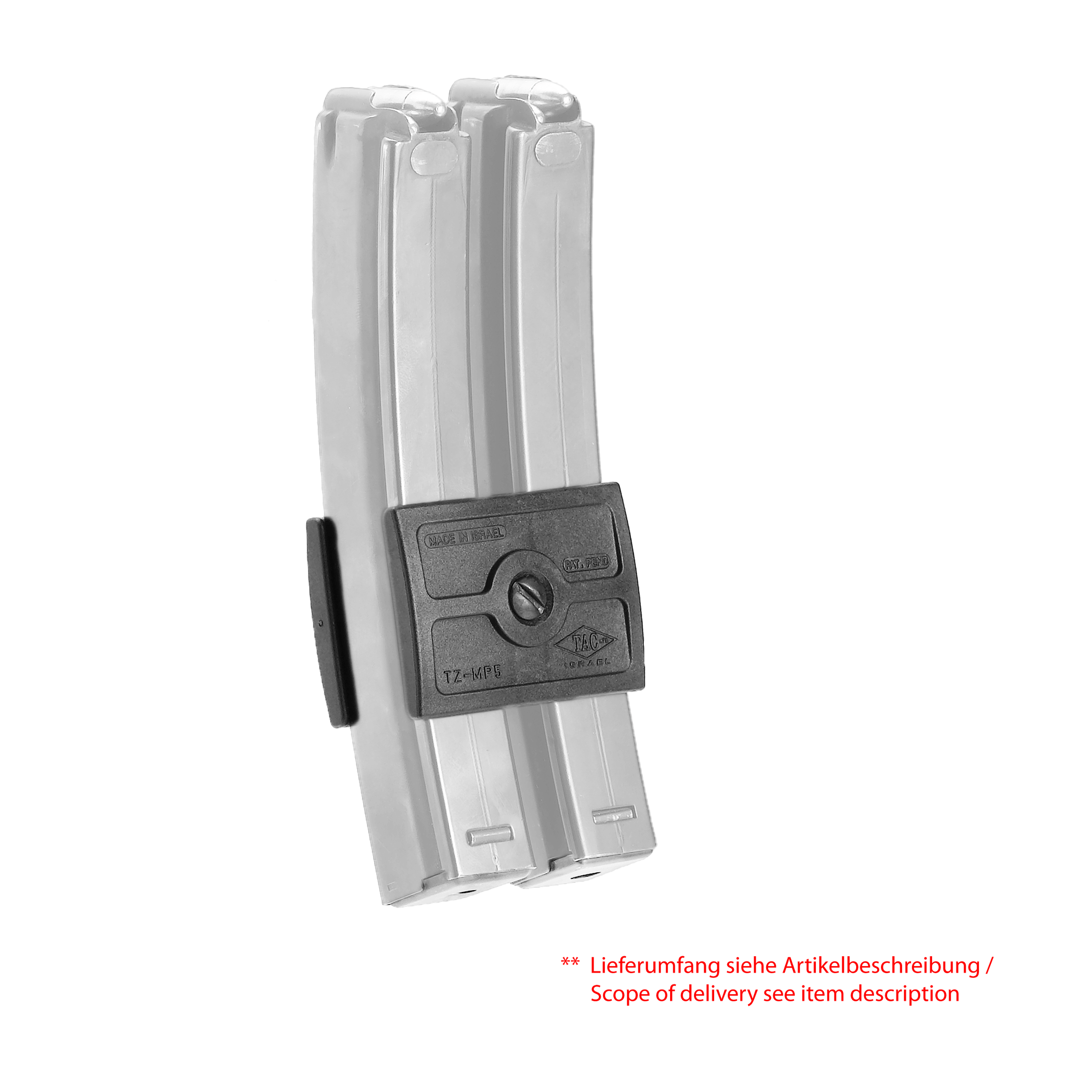 H&K MP5 - GLOCK 9mm Polymer Dual Magazin Clip