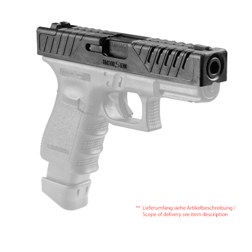 Schlittenüberzieher für Glock 19, 23, 25, 32, 38