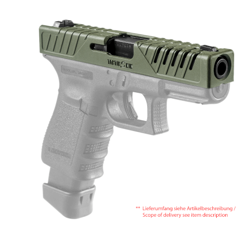 Schlittenüberzieher für Glock 17, 22, 31, 37