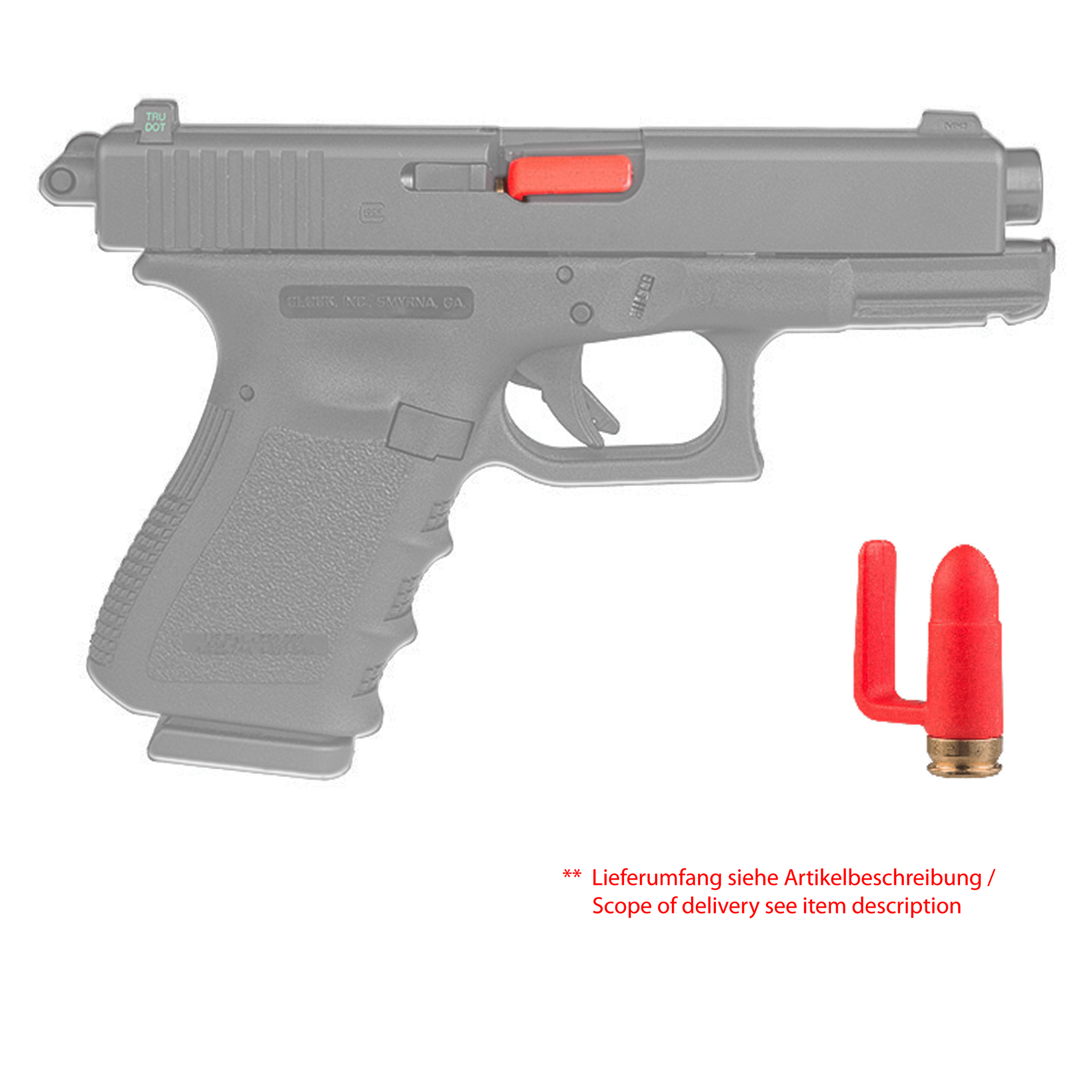 Tactical Barrel Blocker in Calibre 9mm (5 Pieces)