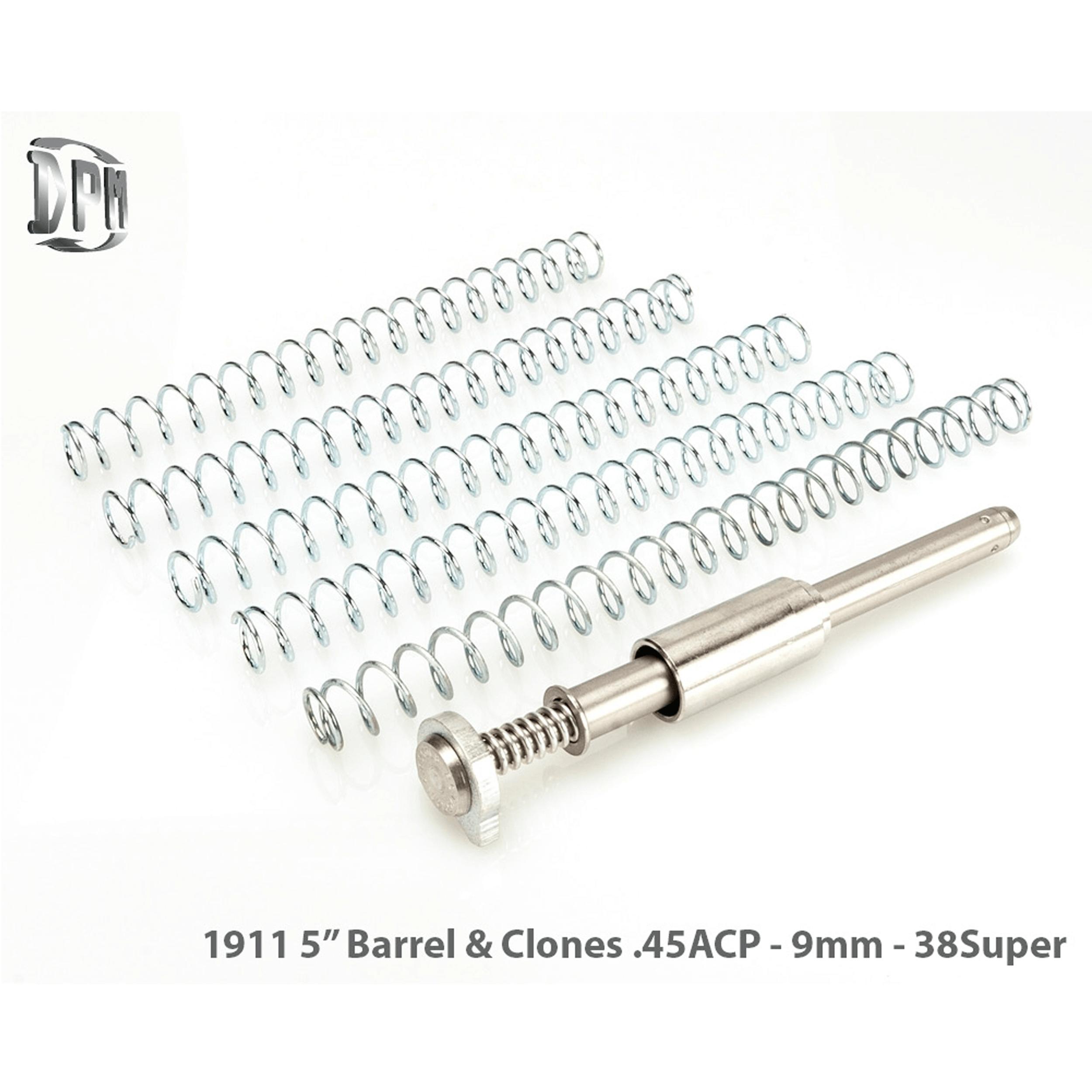 """1911 5"""" mit Bushing - 9 mm / .38 Super / .40 S&W / .45 ACP"""