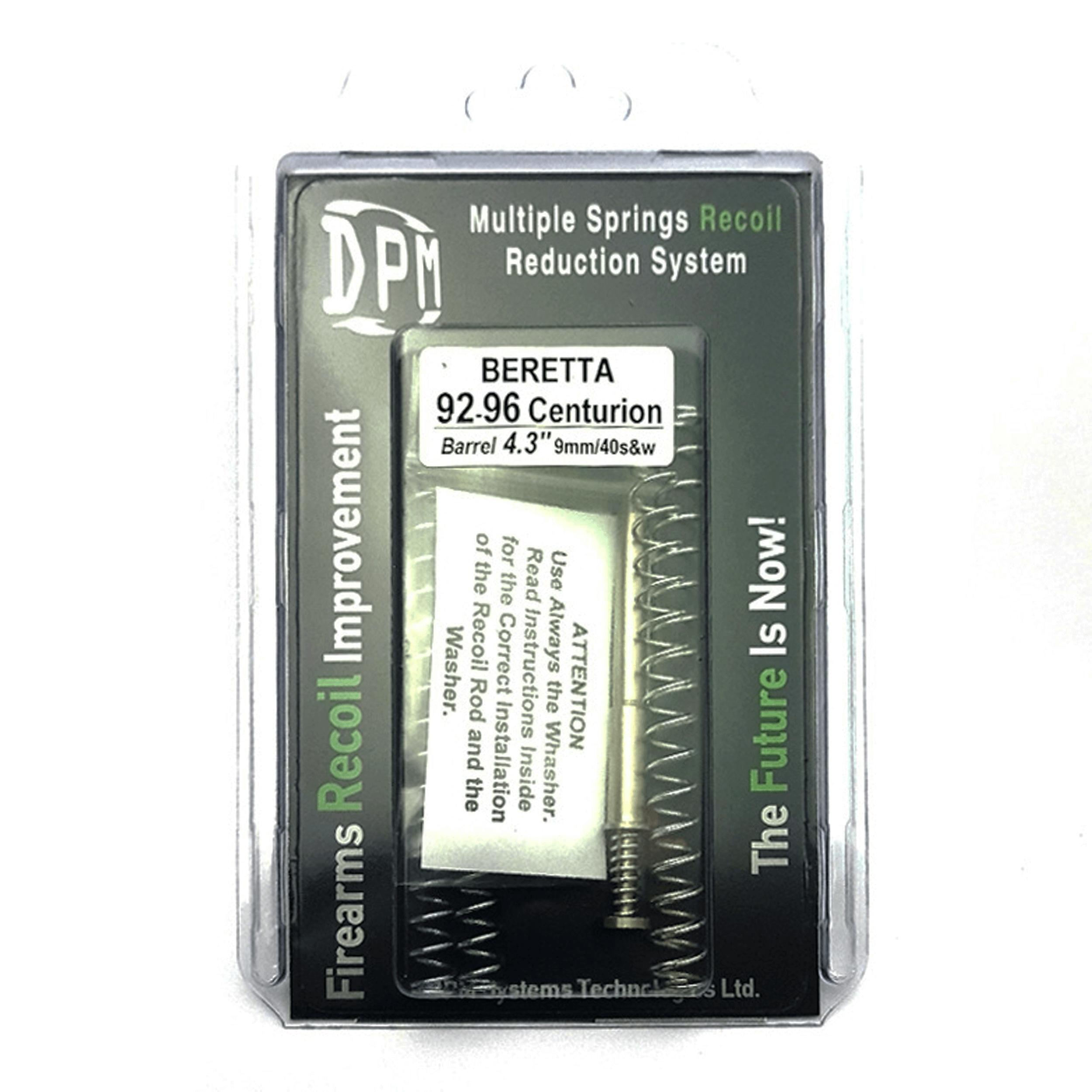 """BERETTA 92/96 CENTURION  4.3"""" 9mm - 40S&W (gb)"""