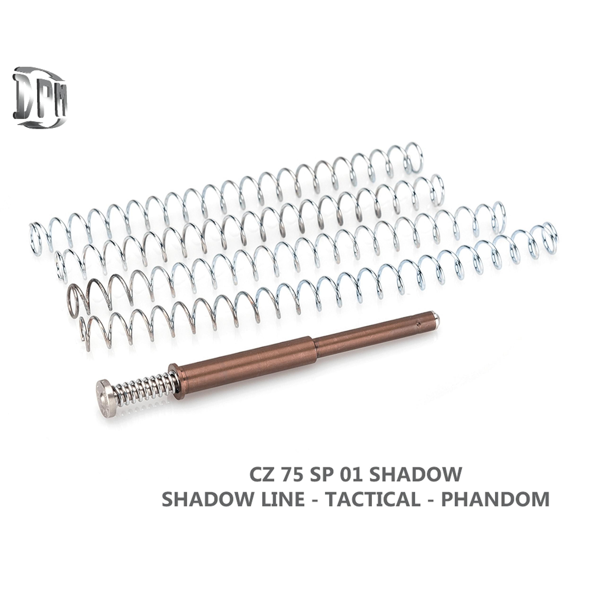CZ 75 SP 01 - Shadow - Mamba - Tactical - Phantom - TS Orange - 9mm