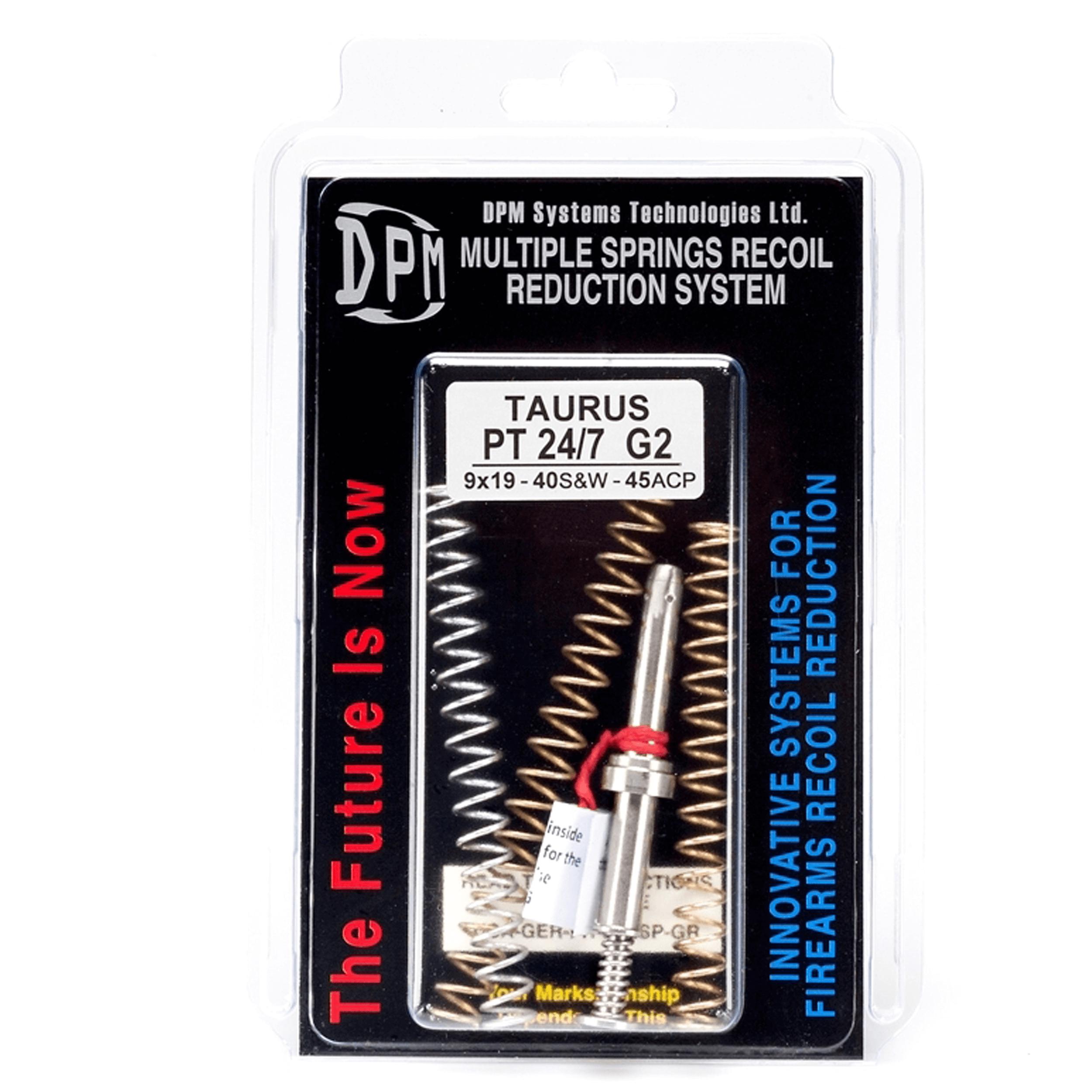 Taurus PT 24/7 G2 .9mm .40S&W .45ACP