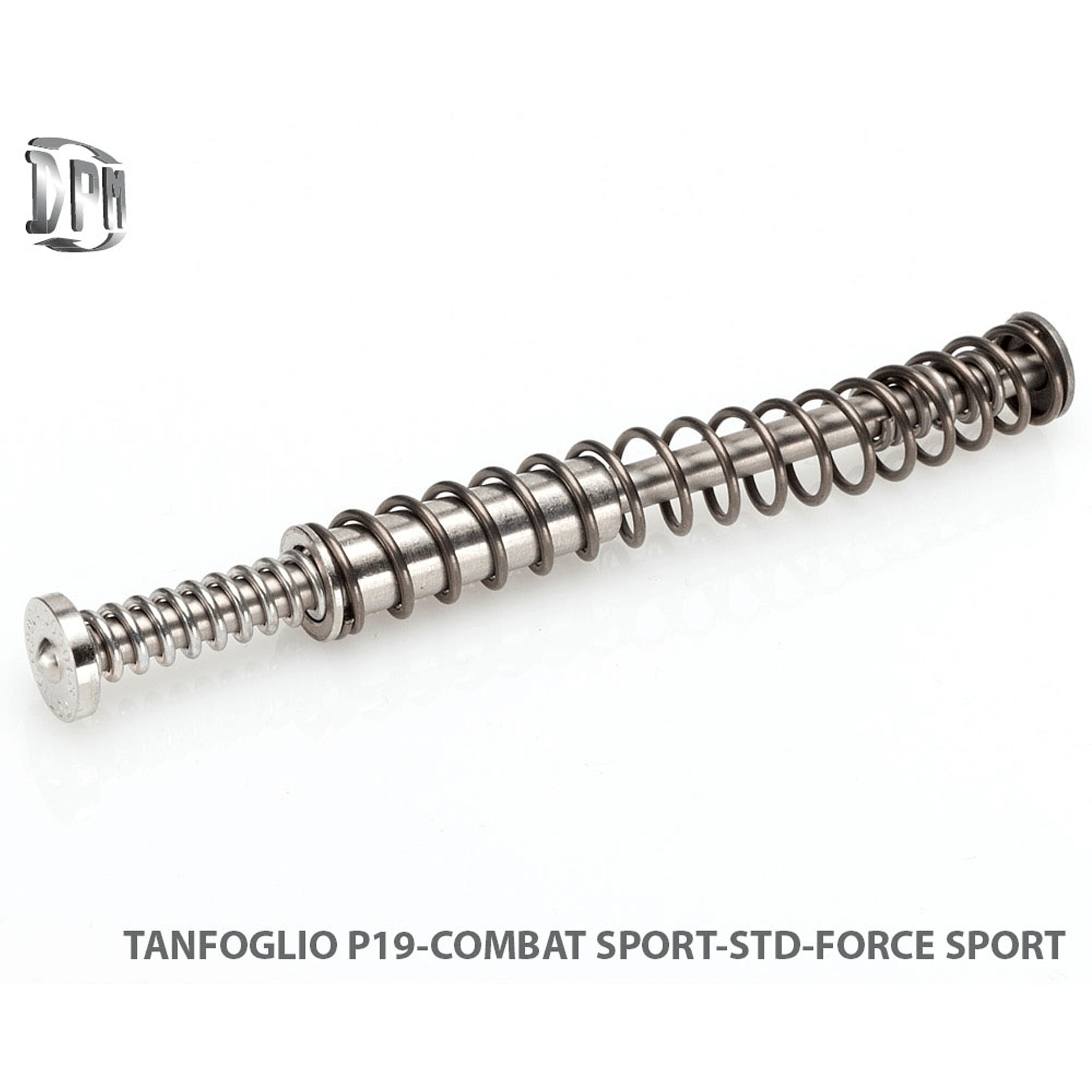 P19 Combat Sport-STD-.9mm .38Super .40S&W .10mmAuto .45ACP .45HP