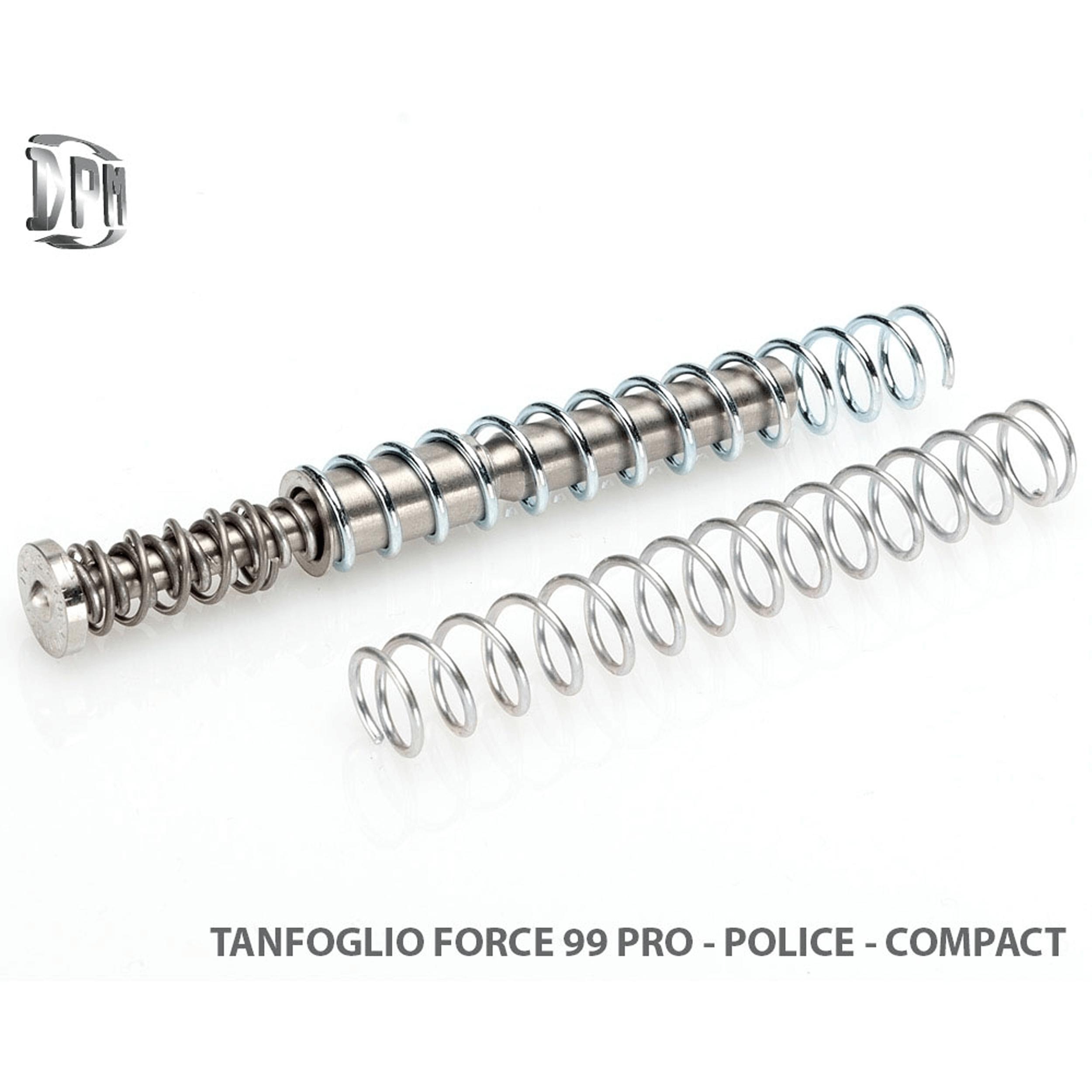 Tanfoglio Force 99 Pro - Police - Compact .9mm .40S&W .45ACP .38Super .10mmAuto