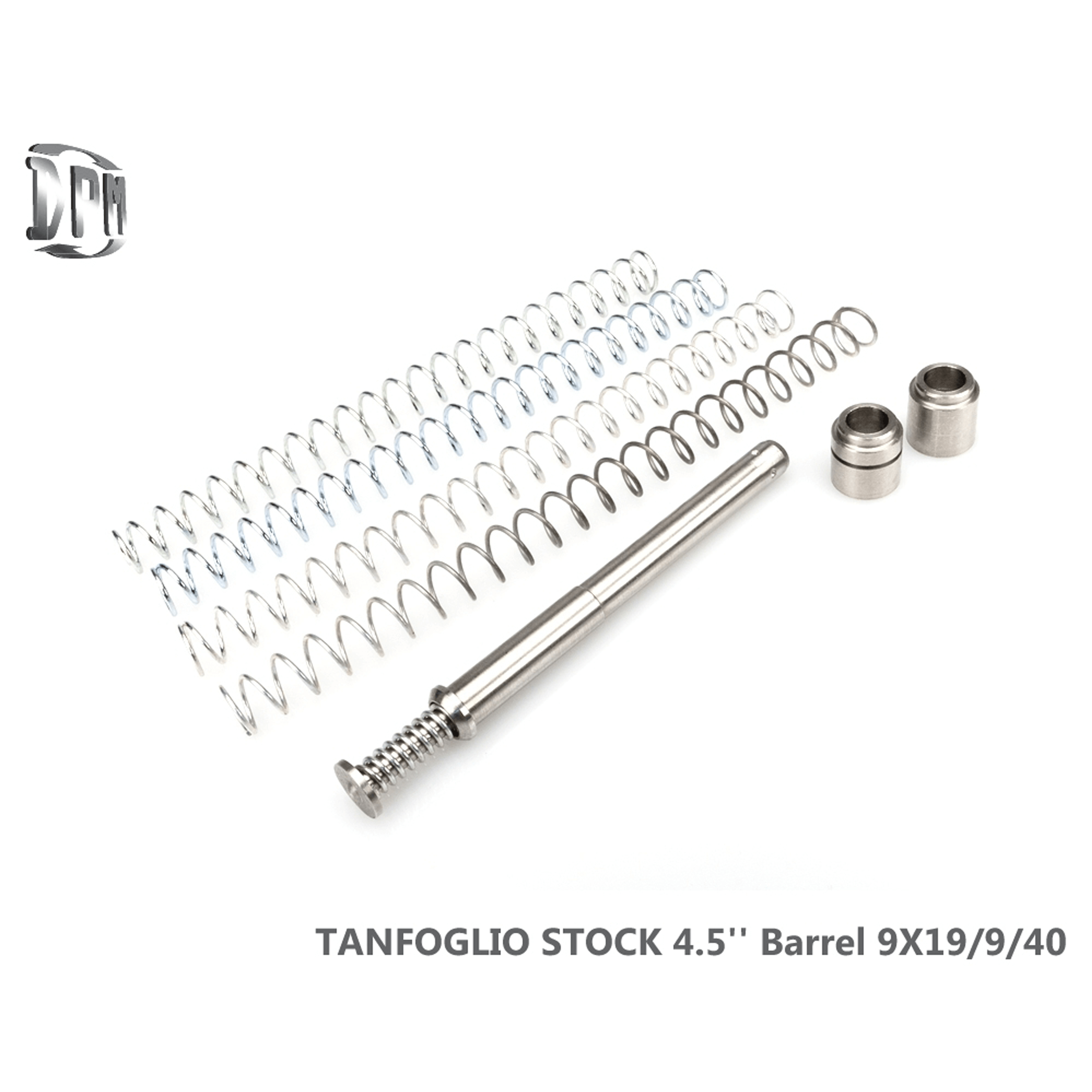 "Tanfoglio Stock 4.5"" Barrel 9mm / 40 S&W"