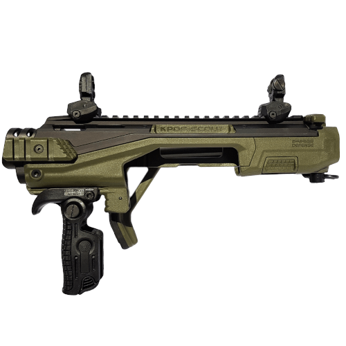 KPOS Scout ADVANCED PDW Anschlagschaft Glock OLIVE