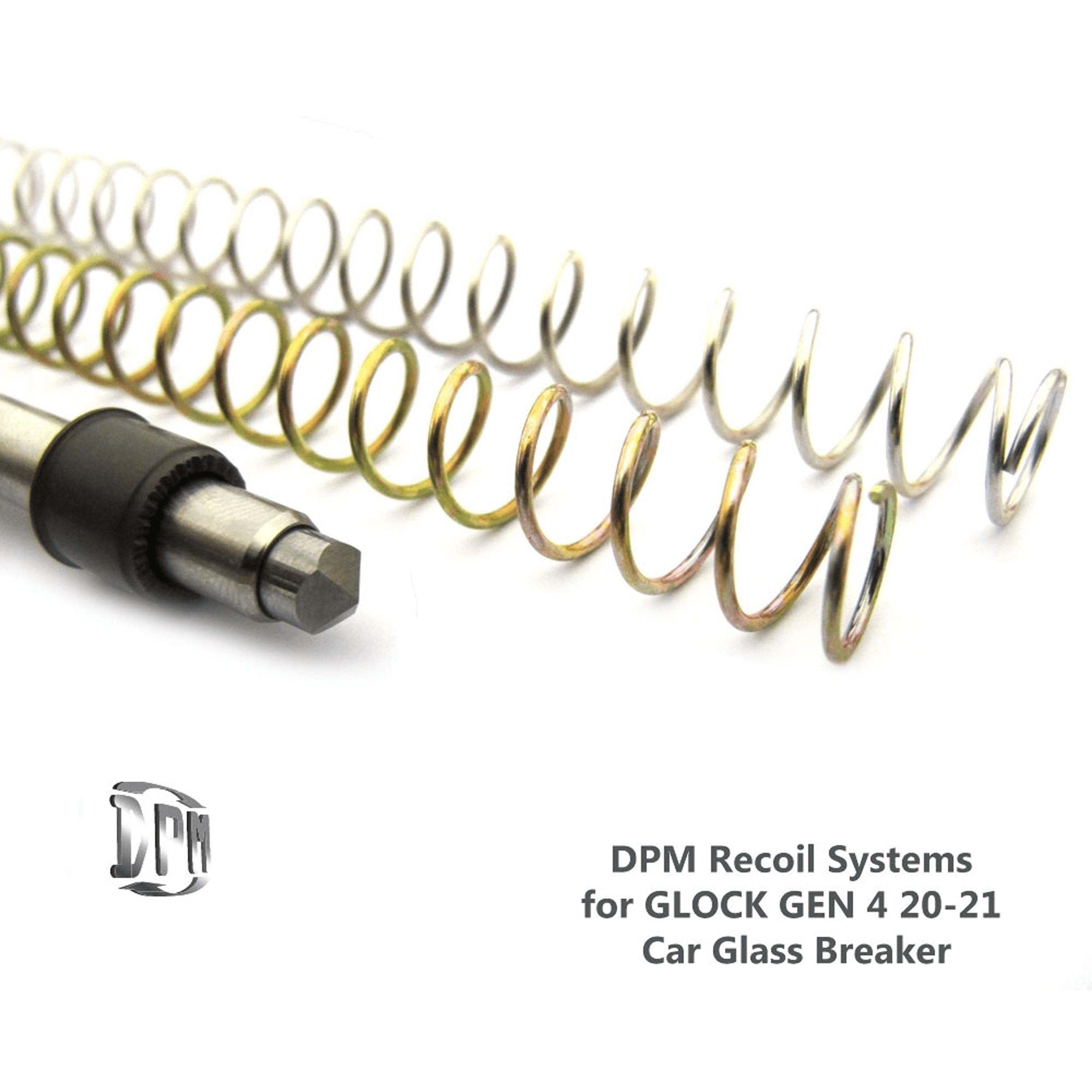 GLOCK 20, 21, 40, 41 & SF GEN 4 Car Glass Breaker
