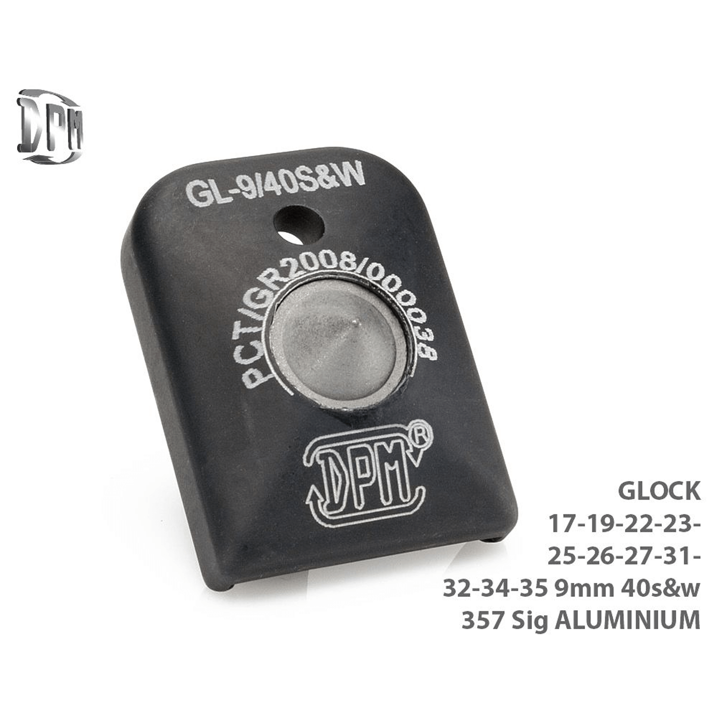 Glock 17 / 19 Aluminum Magazine Floorplate - Glass Breaker