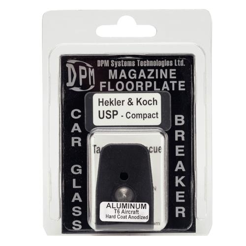 Heckler & Koch USP Compact Aluminium Magazinboden - Glasbrecher