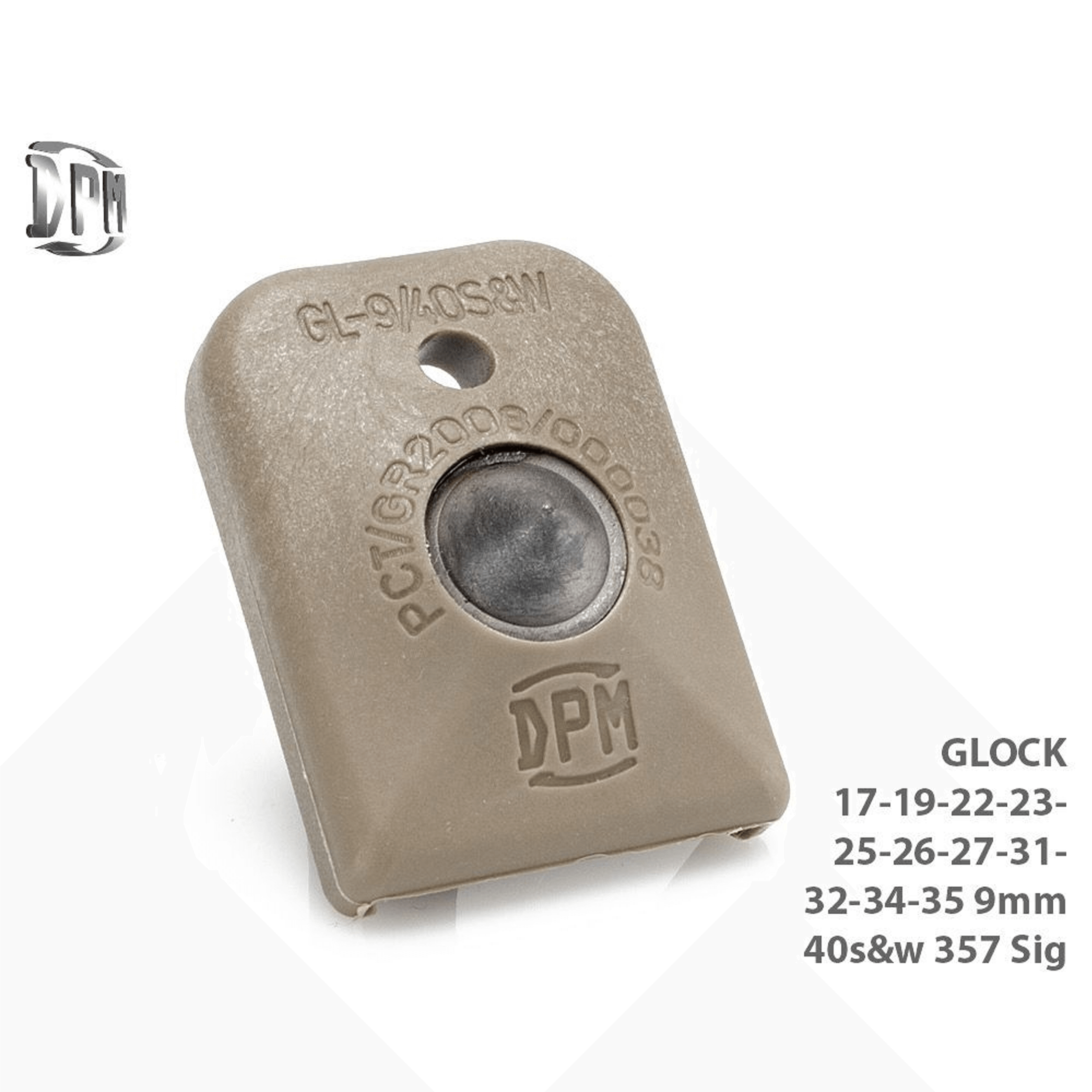 GLOCK 17 - 19 FLOORPLATE - GLASS BREAKER