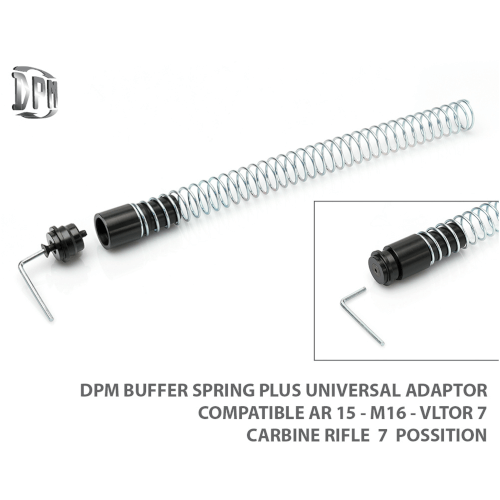 AR-15 / AR10 Universal Adapter und Feder Set