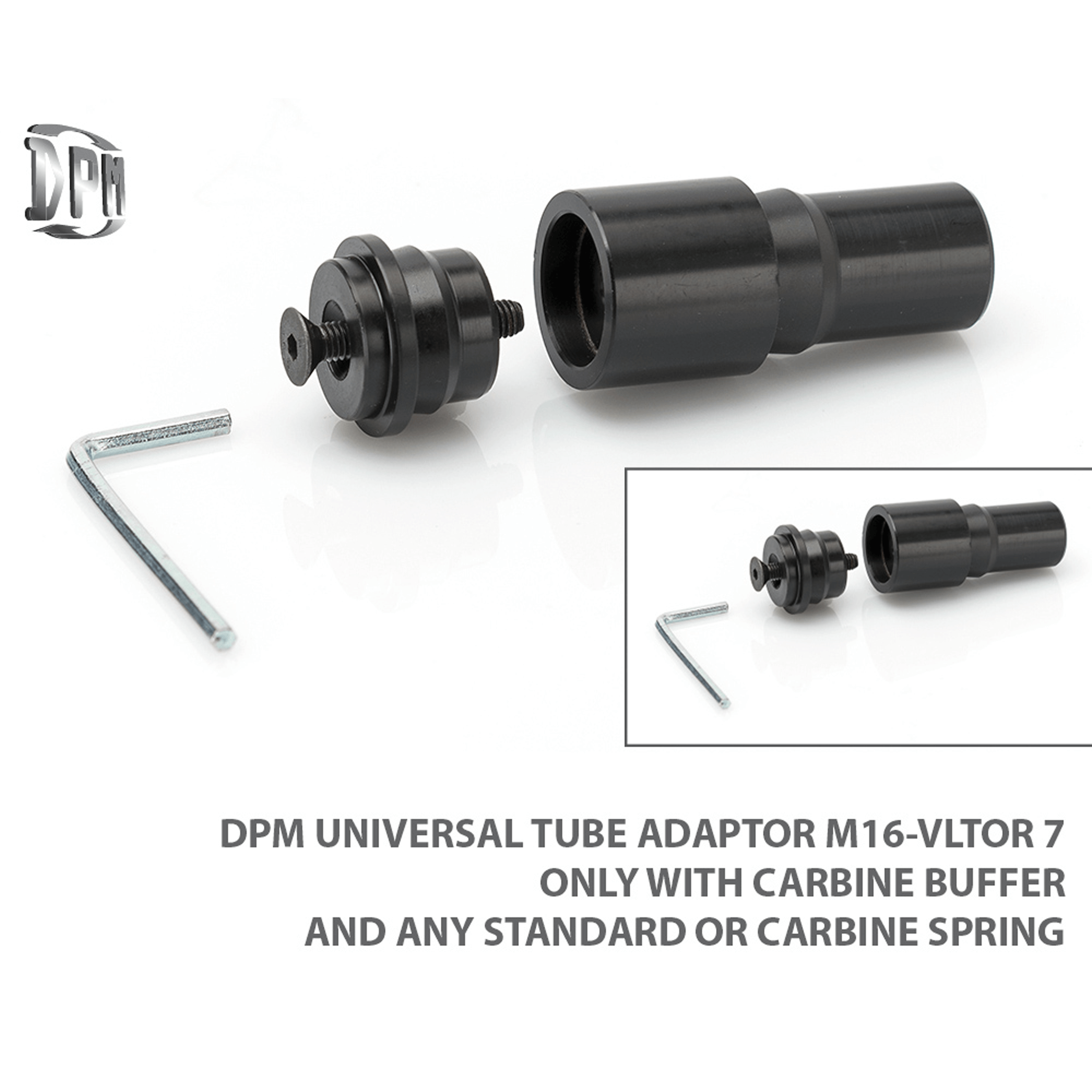 AR-15 / AR-10 Universal Adapter and Spring Set
