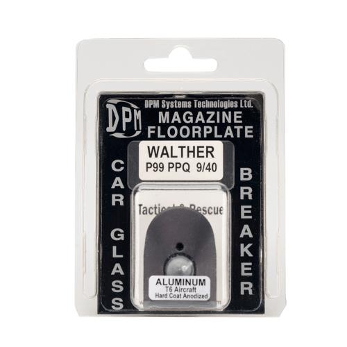 WALTHER P99 PPQ  Aluminium Magazinboden - Glasbrecher