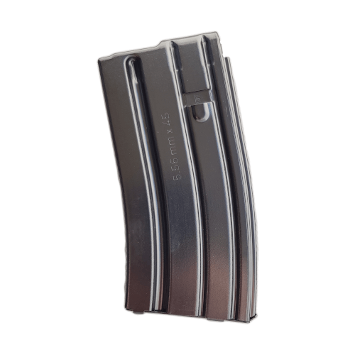 M16 / AR15 - 20 rounds 5.56 x 45 mm / .223 REM Steel Magazine