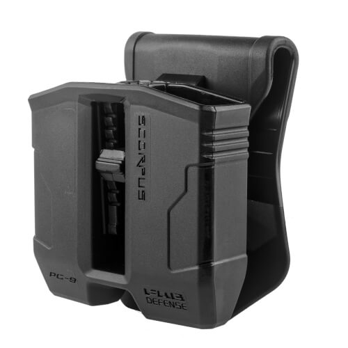 Double Mag Pouch 35° for Glock 17, 19, 22, 23, 25, 26, 27, 31, 32, 33, 34, 35, 37, 38, 39