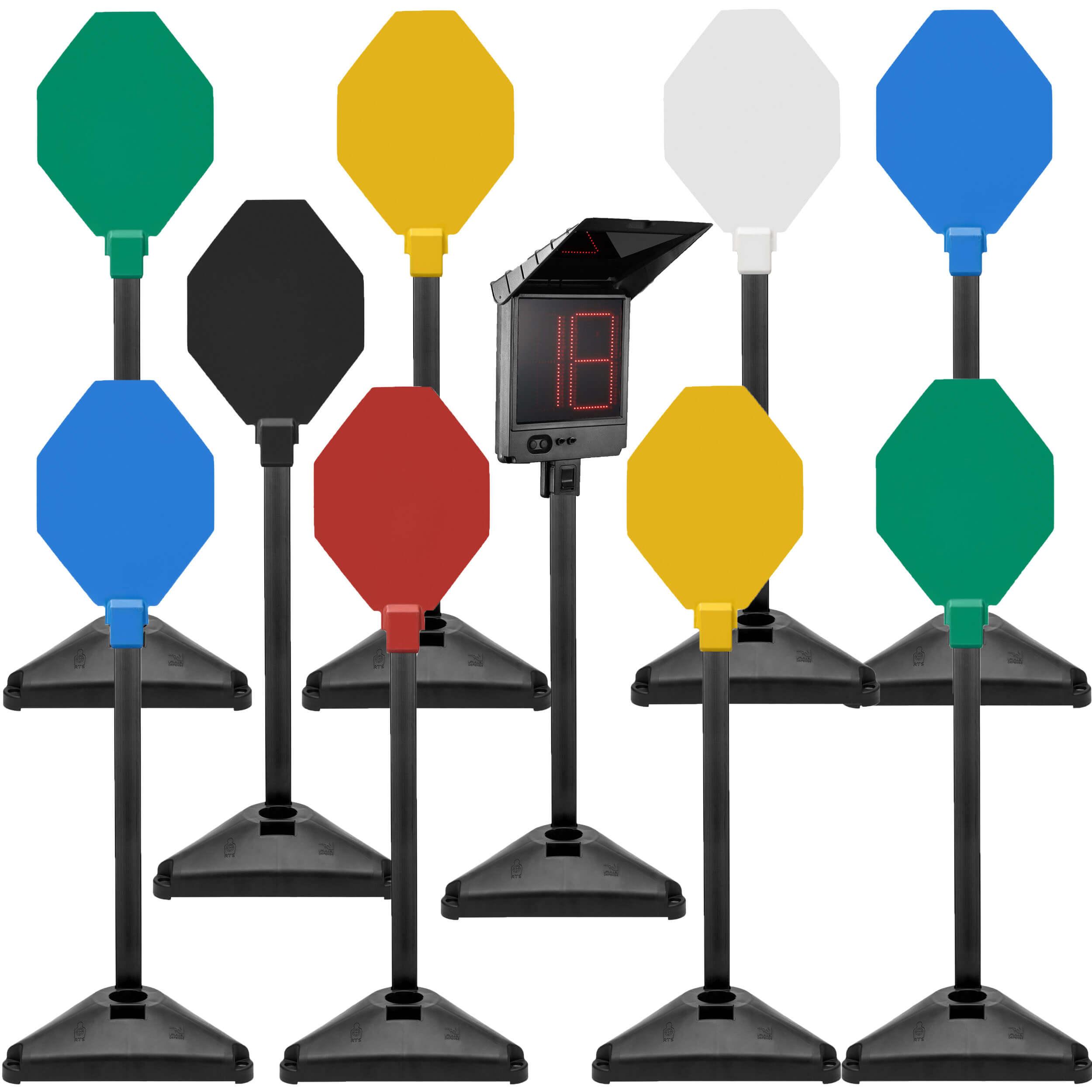 Mobiles Kabelloses IPSC 9er Set