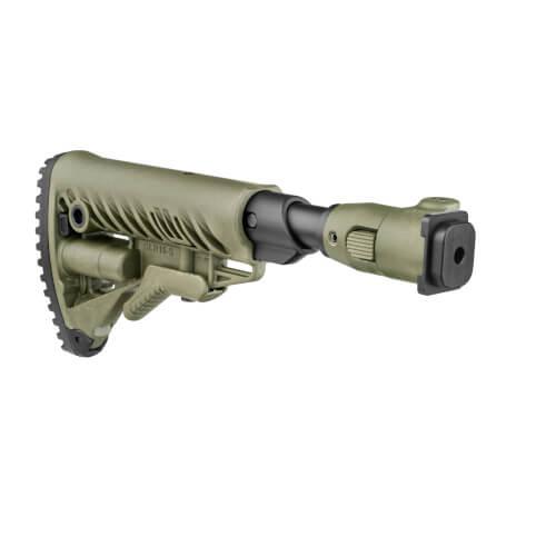 ZASTAVA M70 B1, B3 / M77 B1 folding stock / shock absorbing / AR15 Stil