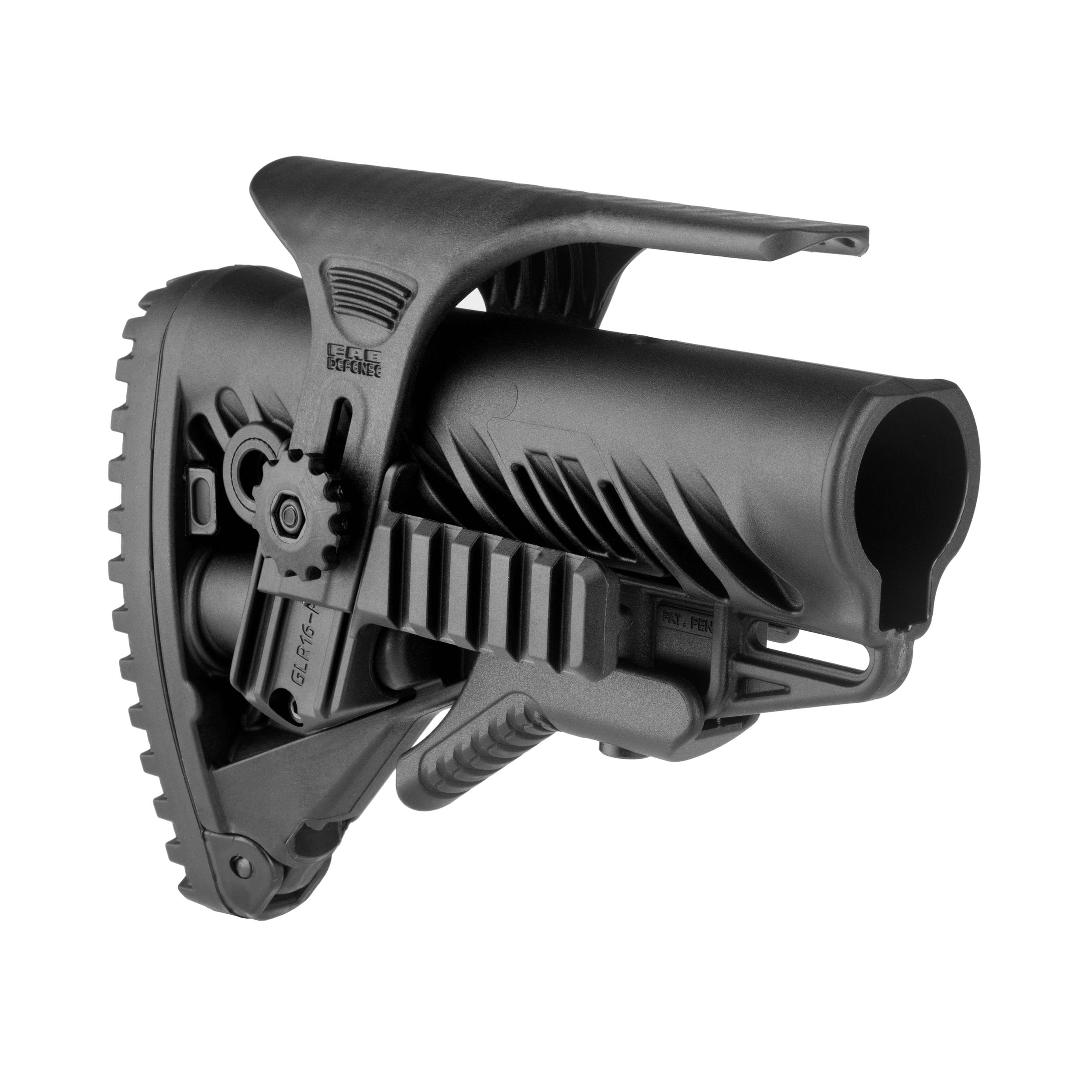 Buttstock AR15 / M16 / M4 Style - Cheek Rest / Rail